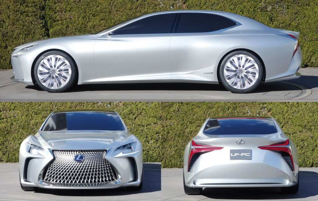 46 The Best 2020 Lexus LSs Exterior