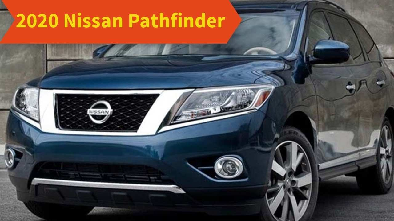 46 The Best 2020 Nissan Pathfinder Hybrid Release