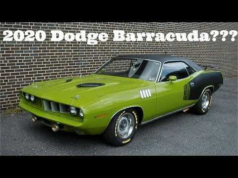 46 The Best 2020 Plymouth Barracuda Pictures