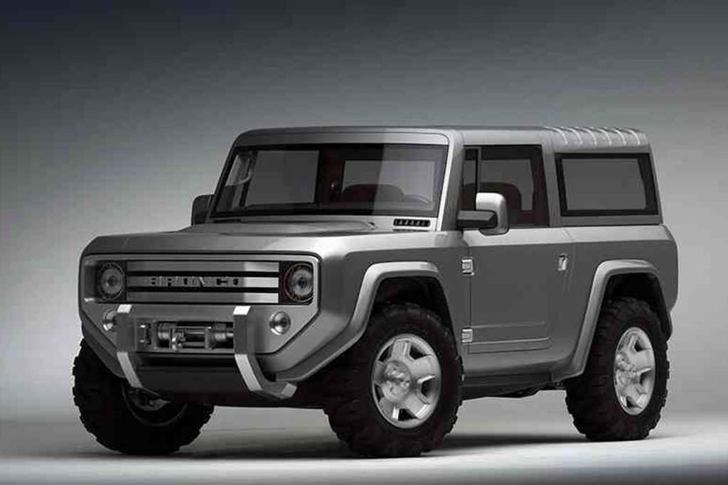 46 The Best Build Your Own 2020 Ford Bronco Spy Shoot