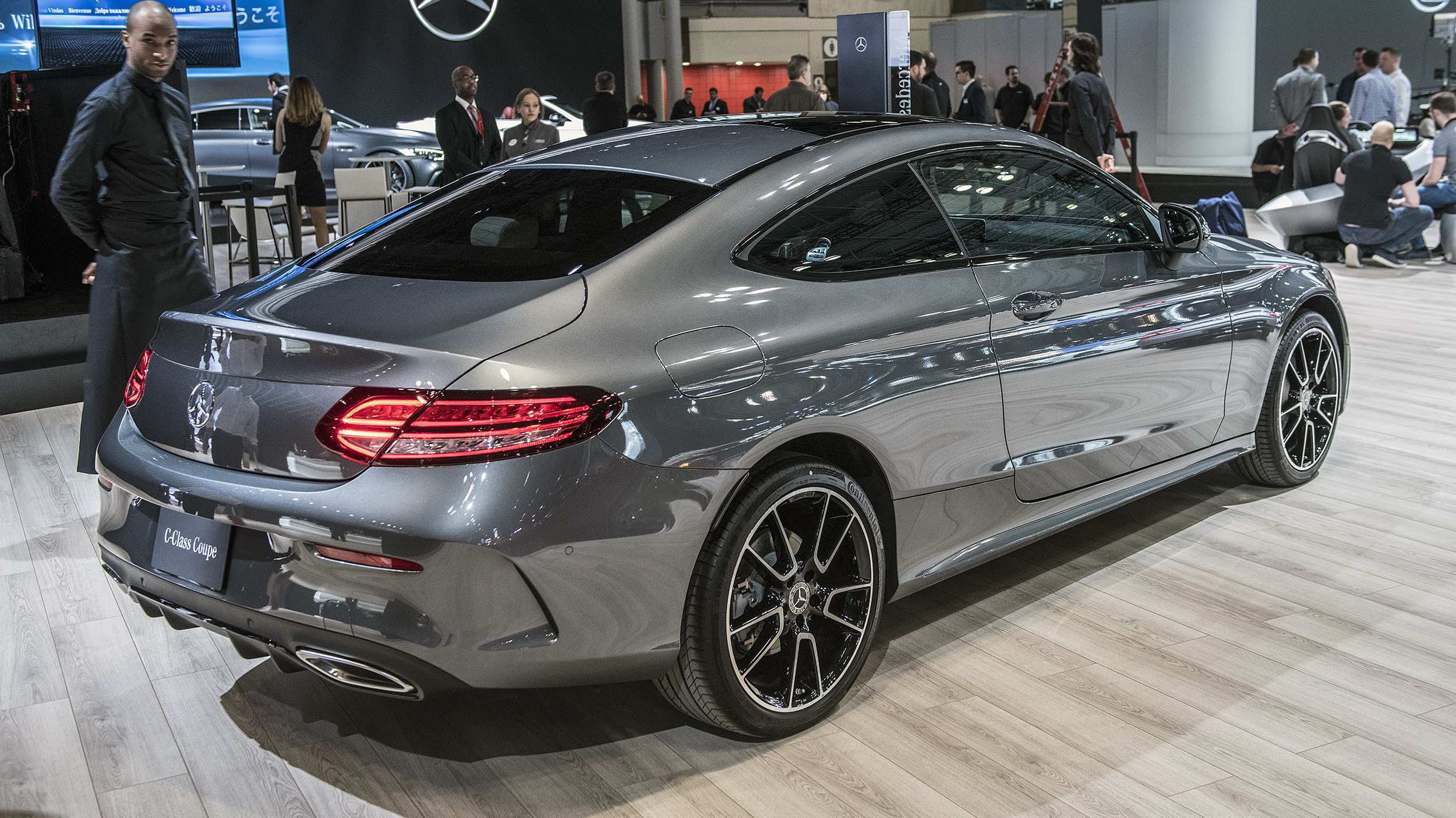 46 The Mercedes C Class Coupe 2019 Concept And Review