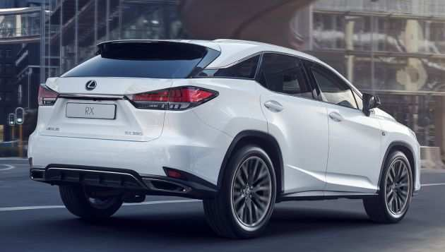 47 A Lexus Rx Facelift 2019 New Model And Performance