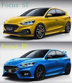 47 All New 2019 Ford Focus Rs St Research New