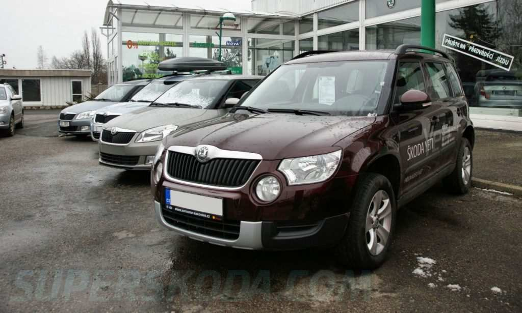 47 All New 2019 Skoda Yeti India Egypt Exterior