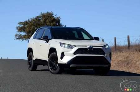 47 All New 2019 Toyota Rav4 Hybrid Review And Release Date