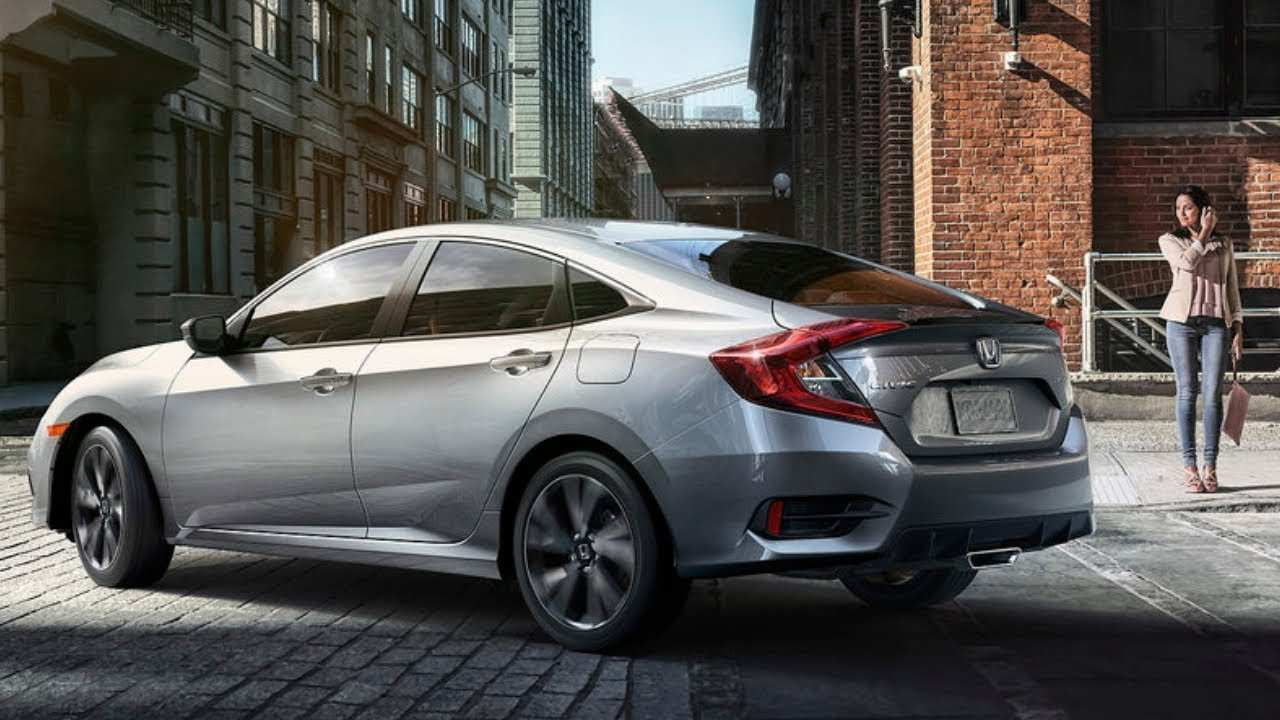 47 All New 2020 Honda Civic Si Sedan Spy Shoot