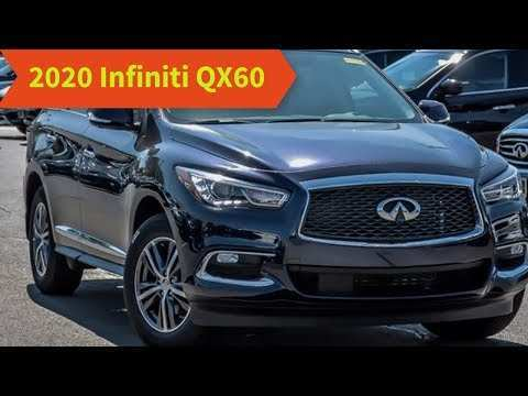 47 All New Infiniti Qx60 New Model 2020 Price Design And Review