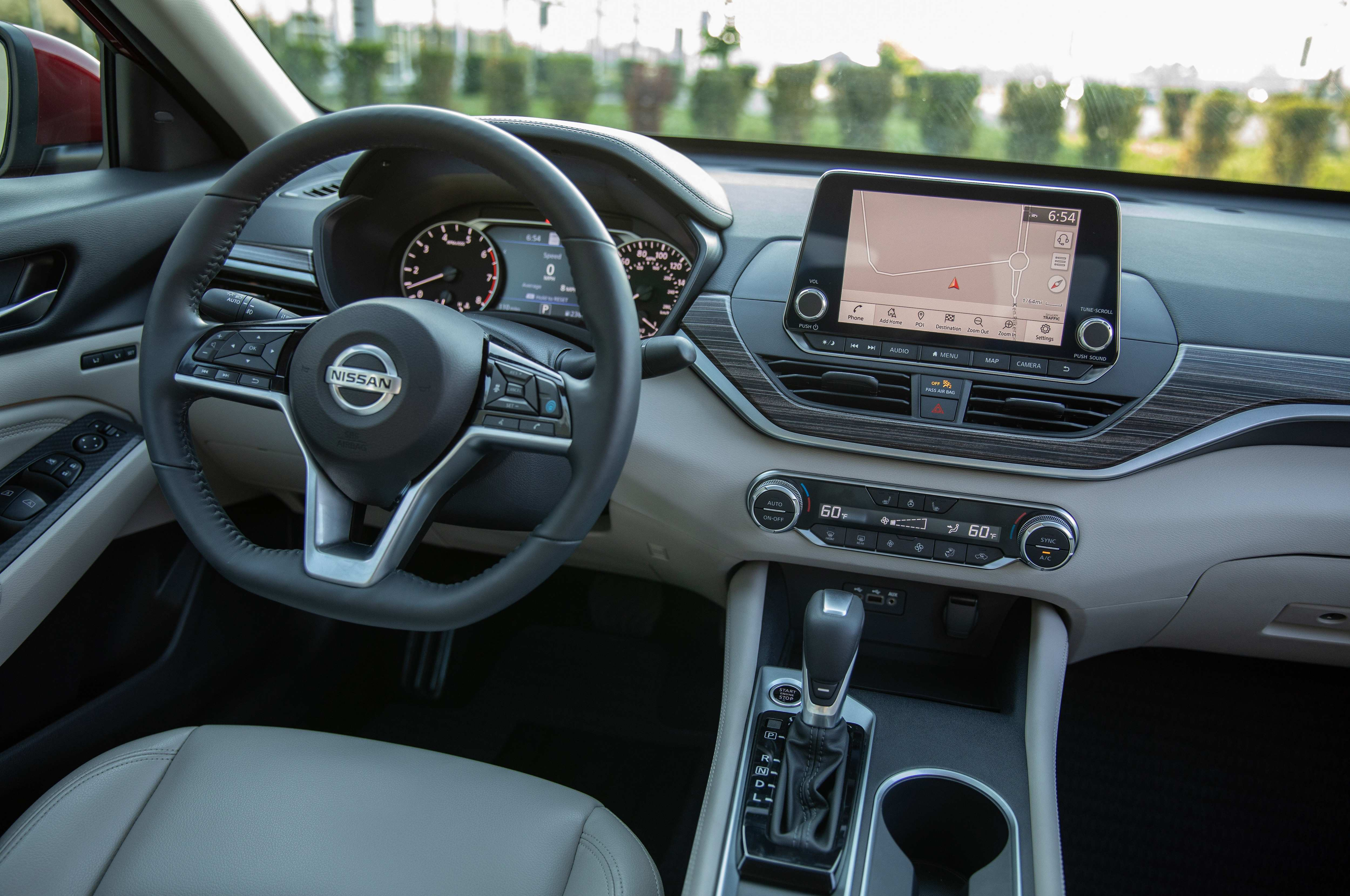 47 New 2019 Nissan Altima Interior Redesign And Concept