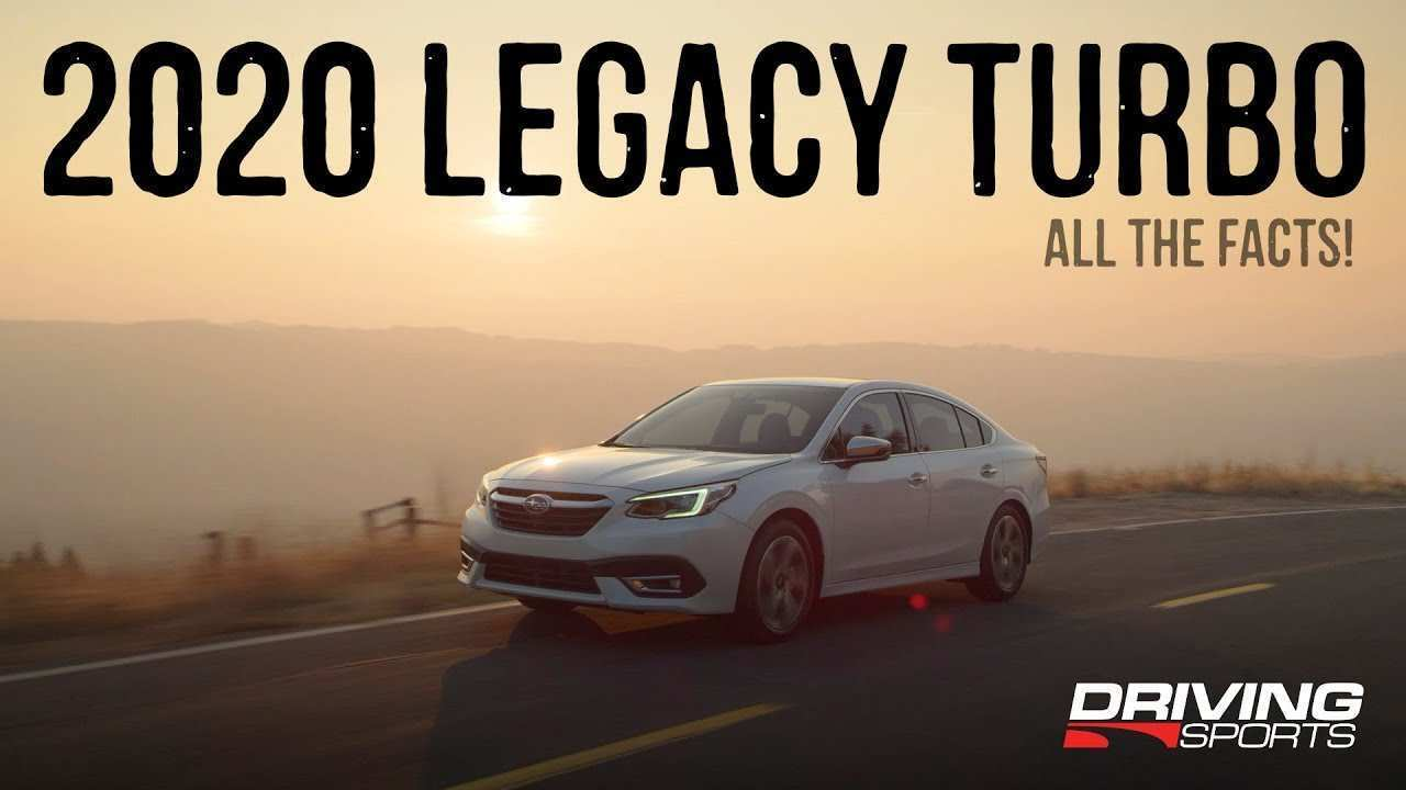 47 New 2020 Subaru Legacy Turbo Engine