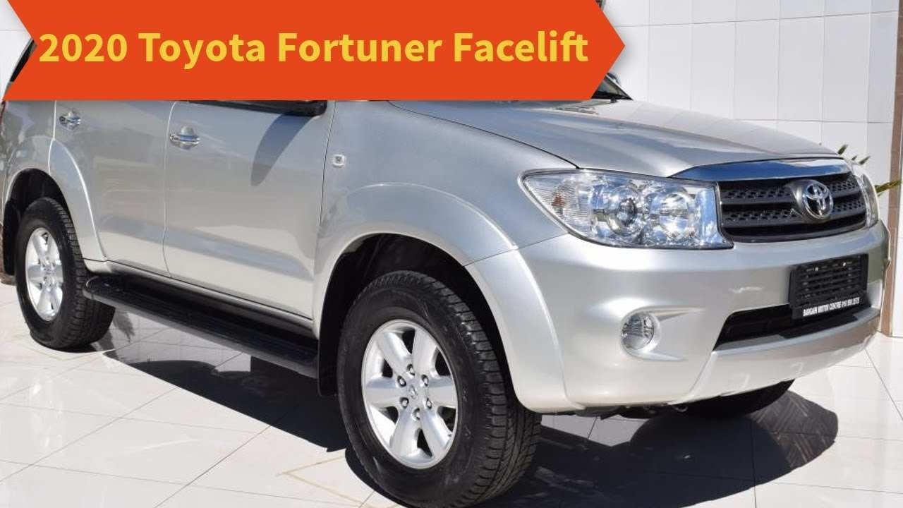 47 New 2020 Toyota Fortuner Concept And Review