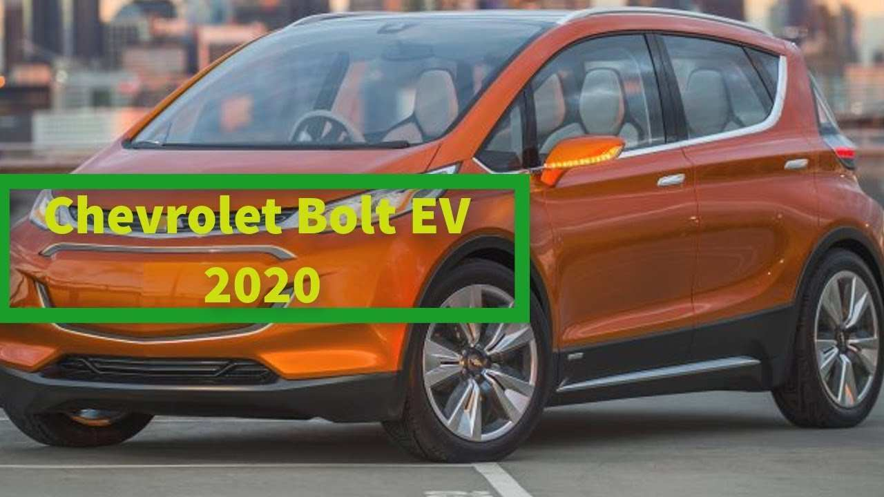 47 New Chevrolet Bolt Ev 2020 Speed Test