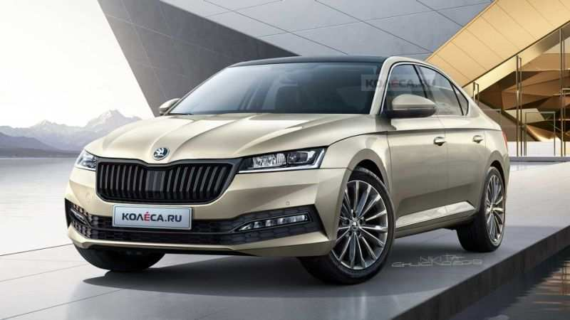 47 The 2020 New Skoda Superb Exterior