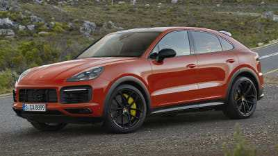 47 The 2020 Porsche Cayenne Turbo S Wallpaper