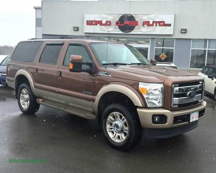 47 The Best 2019 Ford Excursion Diesel Specs