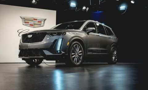 47 The Best 2020 Cadillac Xt6 Interior Spy Shoot