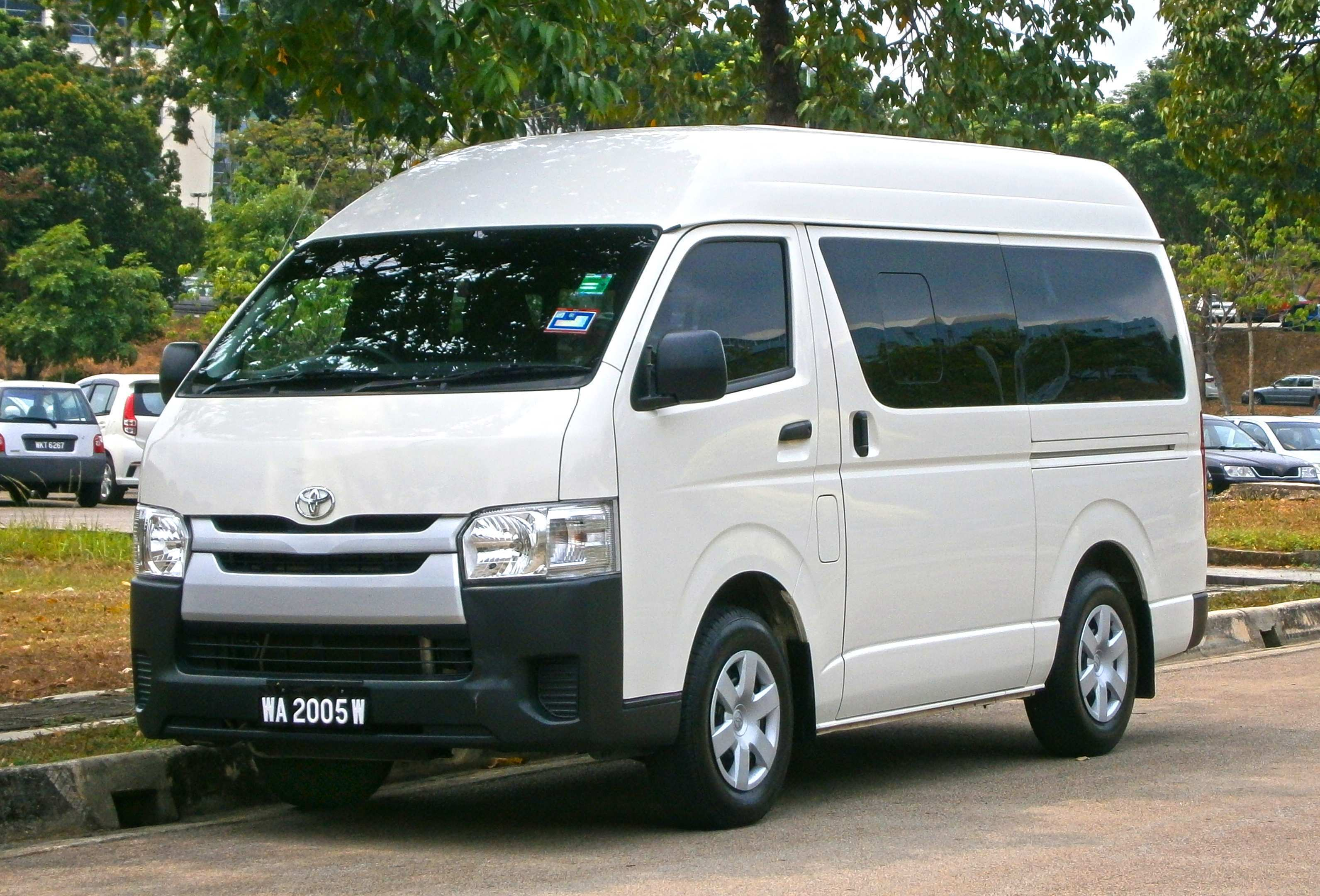 47 The Best 2020 Toyota Hiace Redesign And Concept