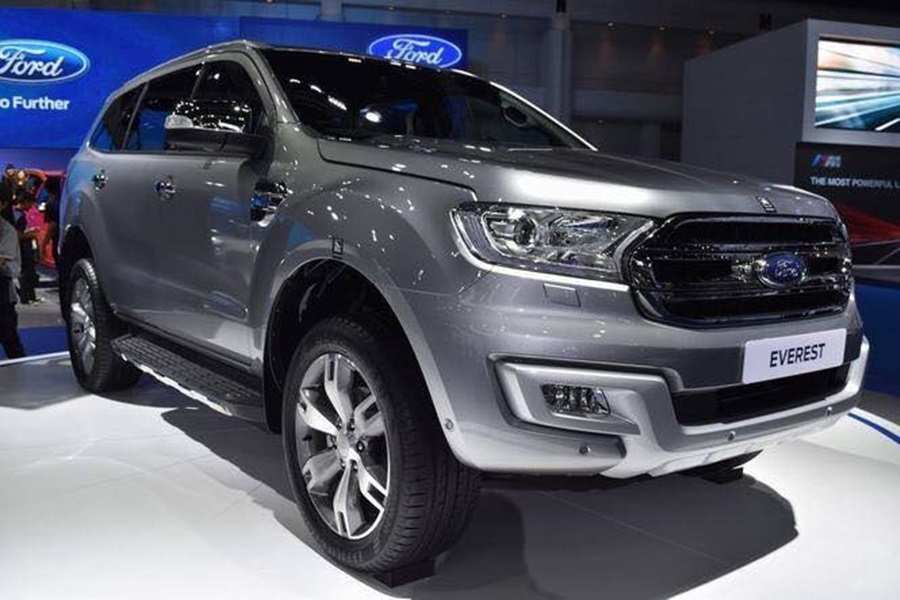 48 A 2019 Ford Everest History
