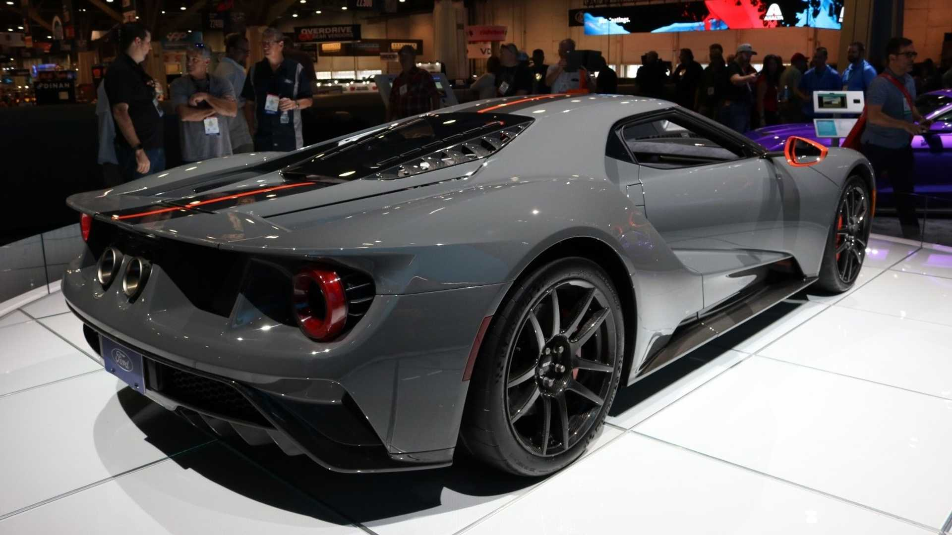 48 A 2019 Ford Gt Supercar Exterior And Interior