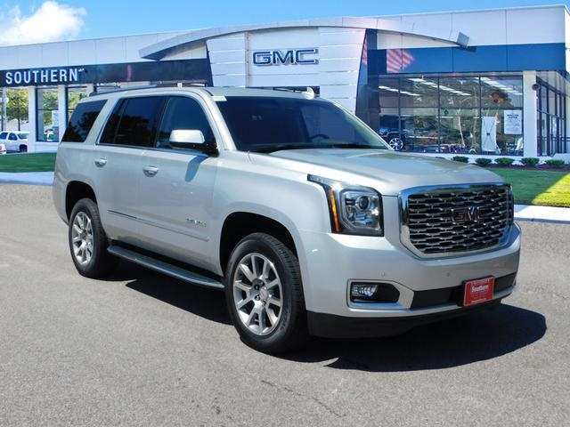 48 A 2019 GMC Yukon Denali Spy Shoot