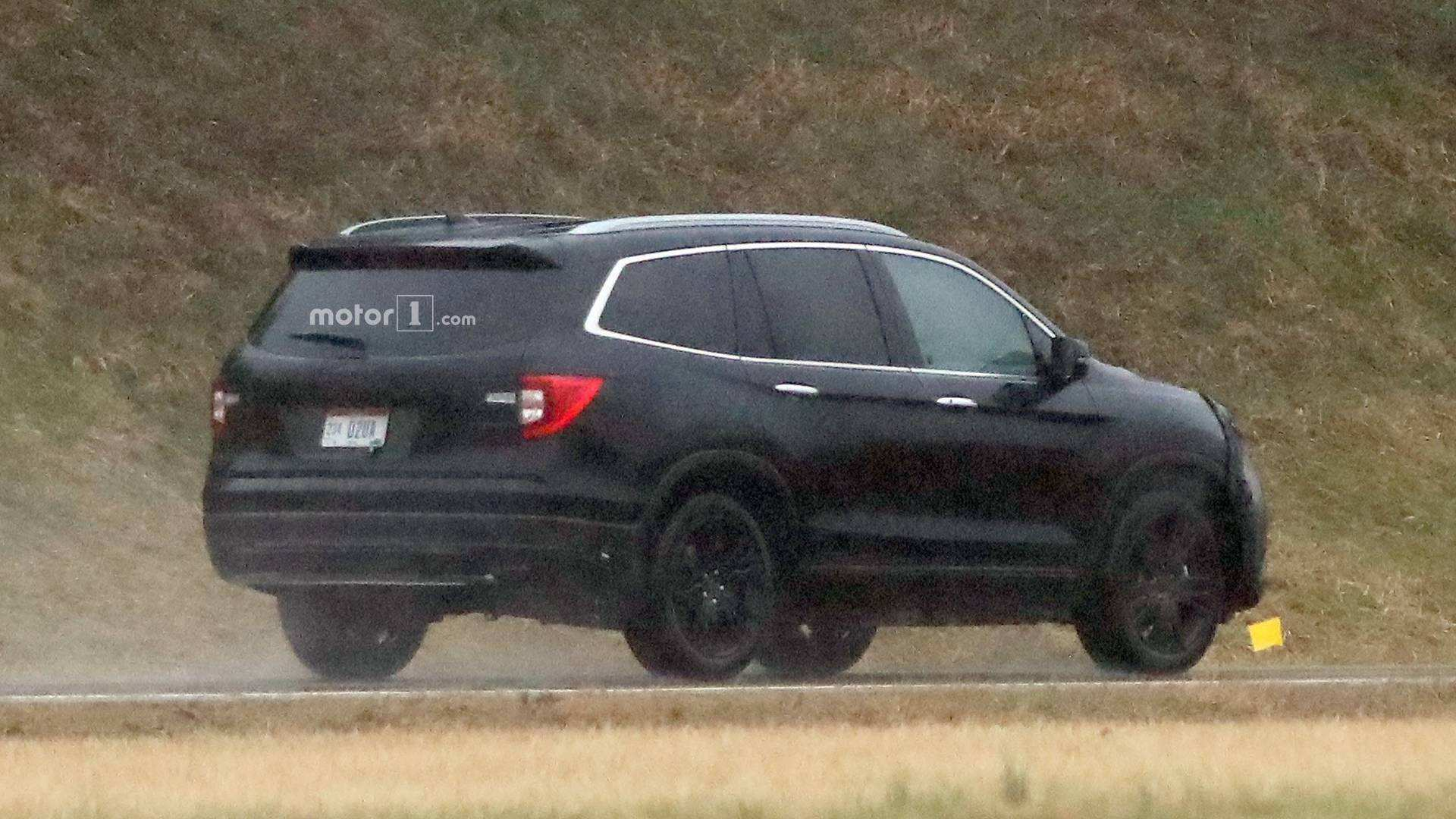 48 A 2019 Honda Pilot Spy Redesign And Concept