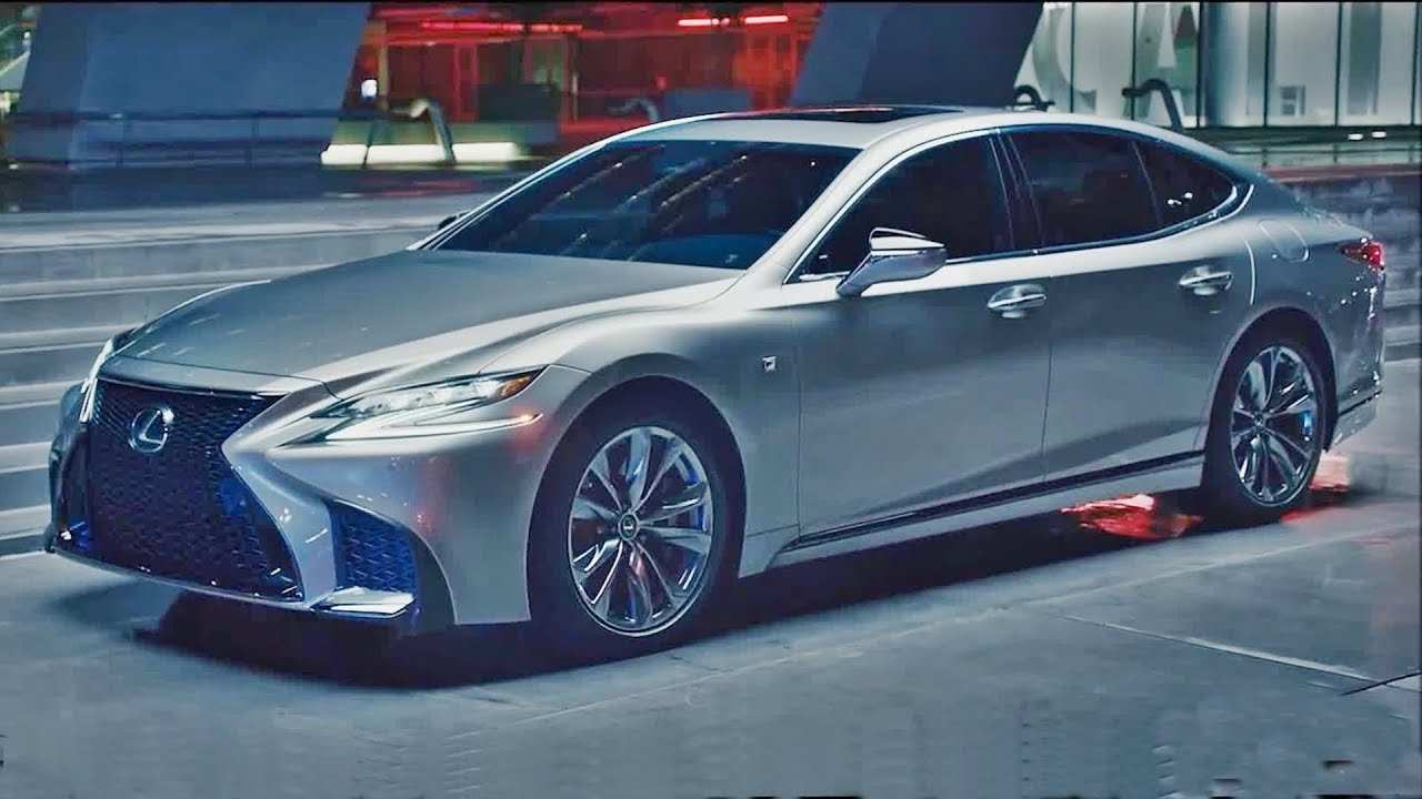 48 A 2019 Lexus LS Spy Shoot