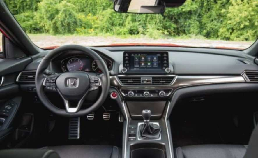48 A 2020 Honda Accord Interior Overview