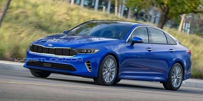 48 A 2020 Kia Optima Redesign