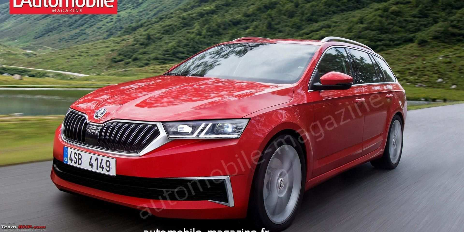 48 A 2020 New Skoda Superb Performance And New Engine