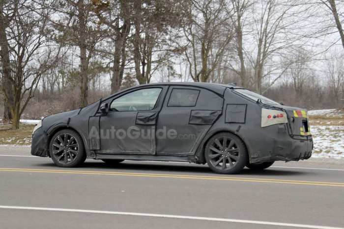 48 A 2020 Spy Shots Toyota Prius First Drive