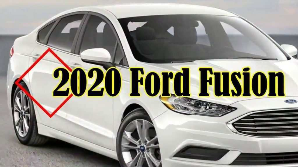 48 A 2020 The Spy Shots Ford Fusion Overview