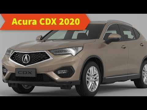48 A Acura Cdx 2020 Prices