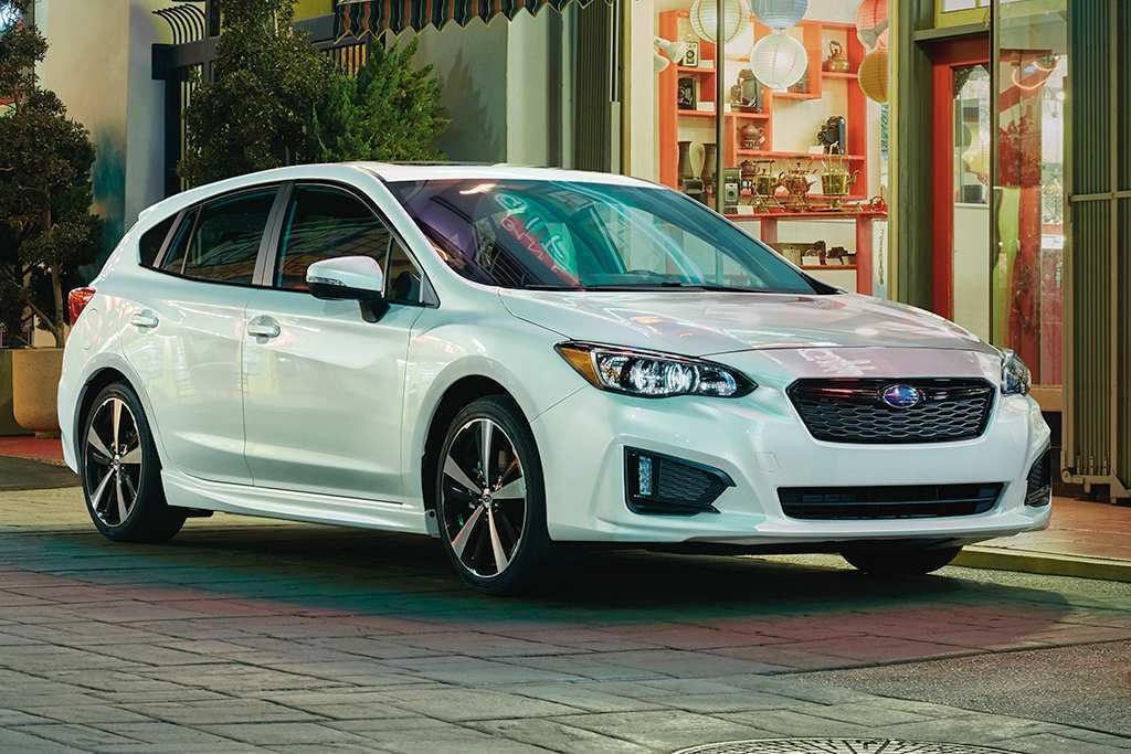 48 A Subaru 2019 Hatchback Price Design And Review