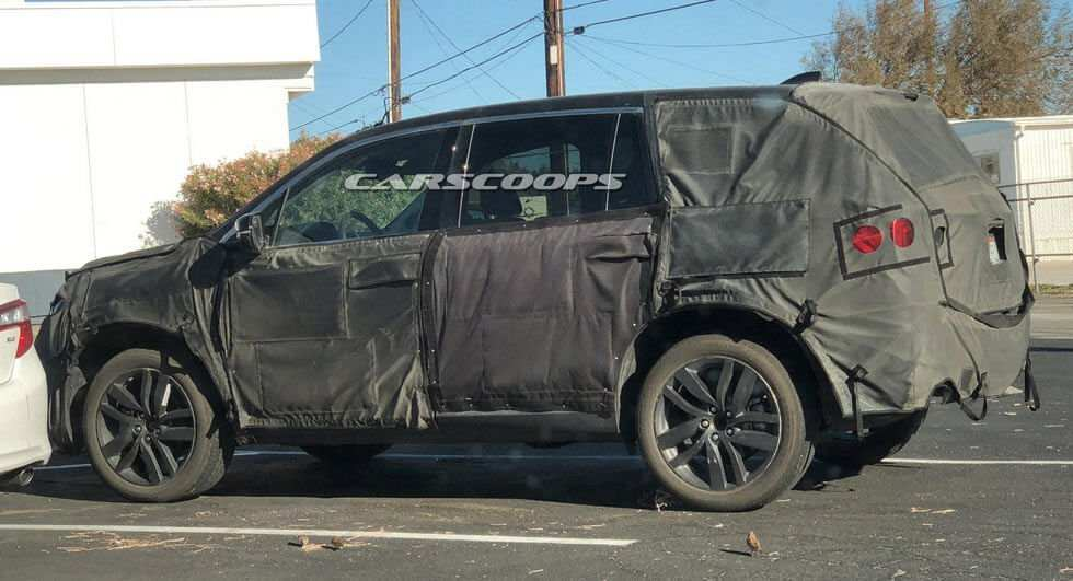48 All New 2019 Honda Pilot Spy Specs