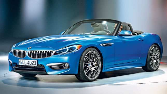 48 All New 2020 BMW Z4 Roadster New Model And Performance