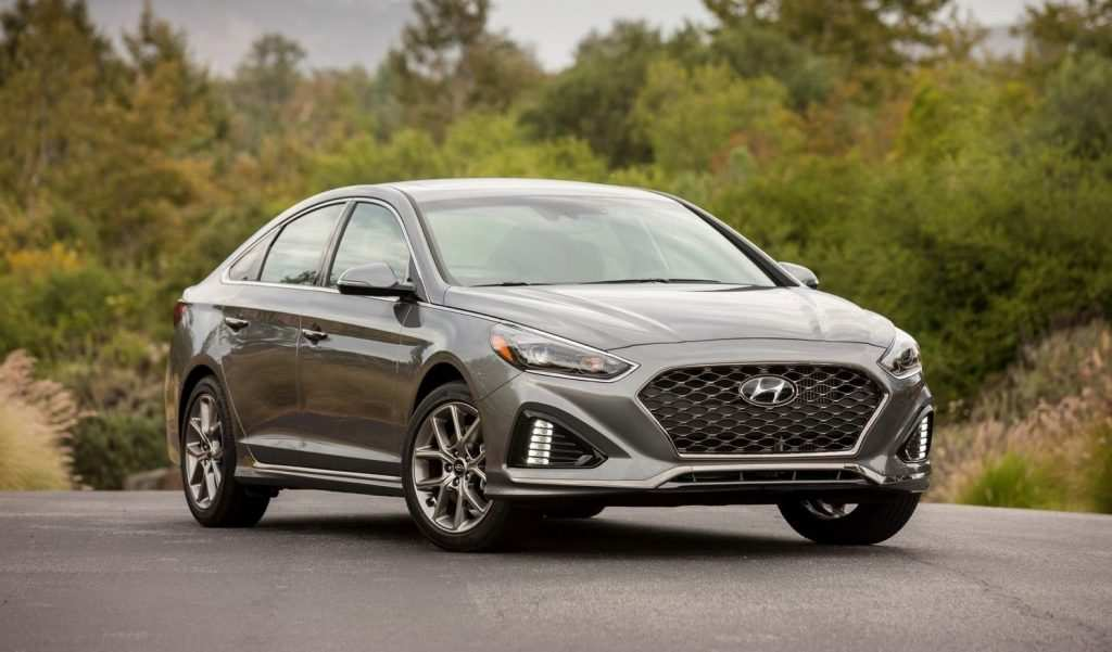 48 All New 2020 Hyundai Sonata Hybrid Sport Interior