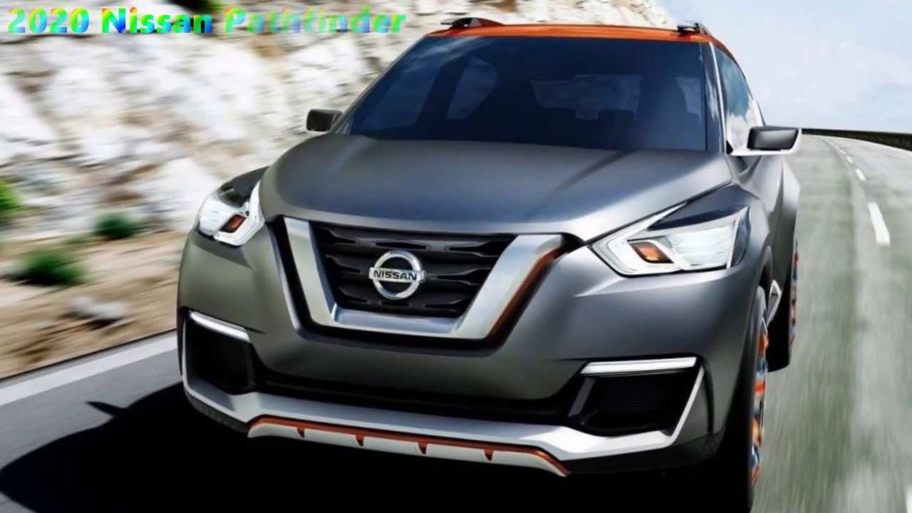 48 All New 2020 Nissan Pathfinder Hybrid Exterior