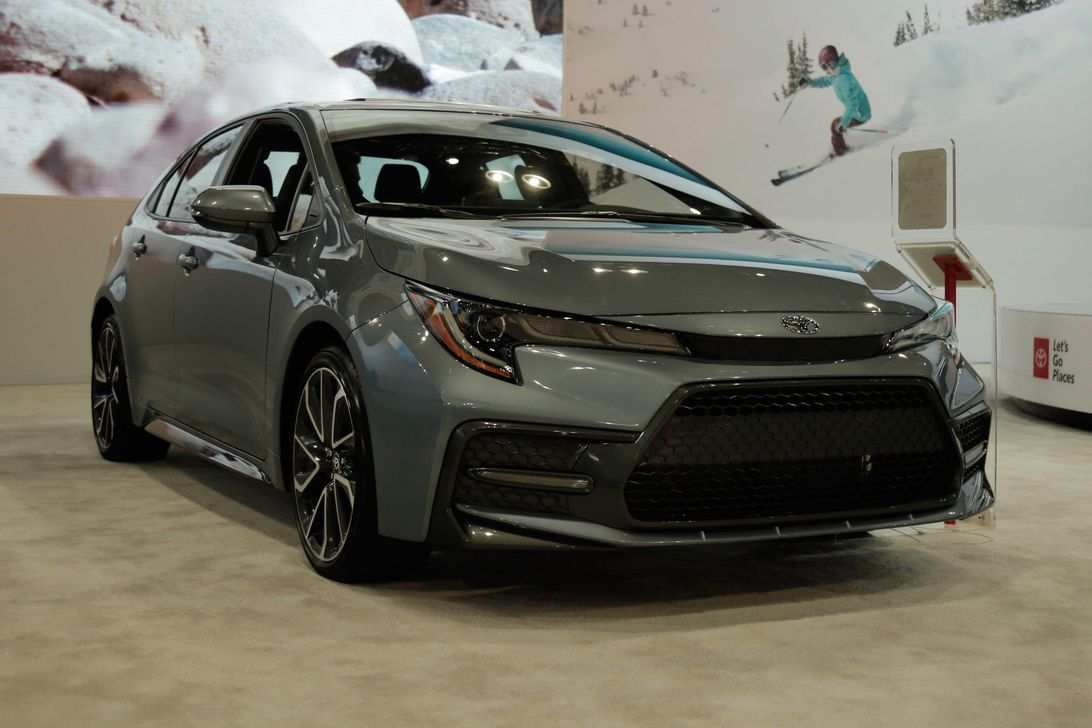 48 All New 2020 Toyota Corolla Spy Shoot