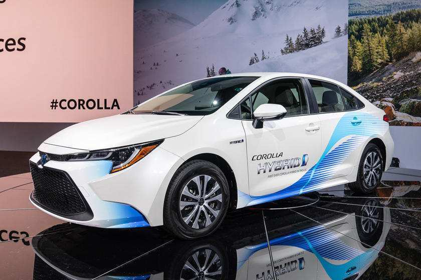 48 All New Toyota Electric Car 2020 Spy Shoot