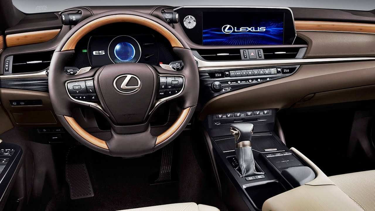 48 Best 2019 Lexus Es 350 Interior Spesification