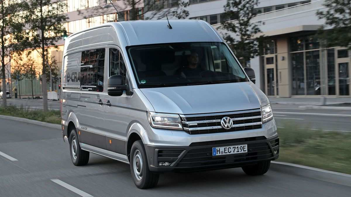 48 New Volkswagen Crafter 2019 Review And Release Date