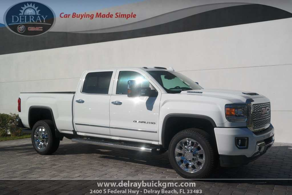 48 The 2019 GMC Sierra 2500Hd Exterior And Interior