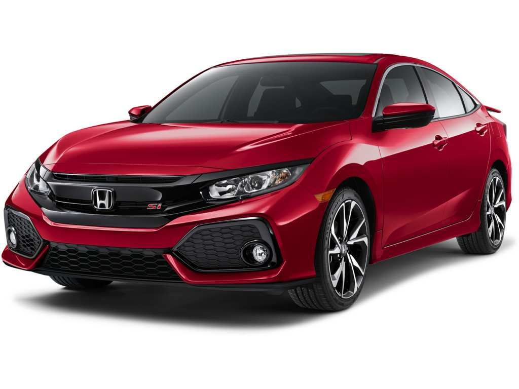 48 The 2019 Honda Civic Si Sedan Exterior
