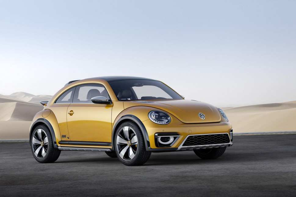 48 The 2019 Volkswagen Beetle Dune Interior