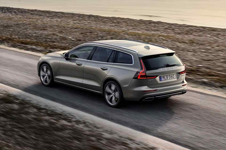 48 The 2019 Volvo Station Wagon Exterior