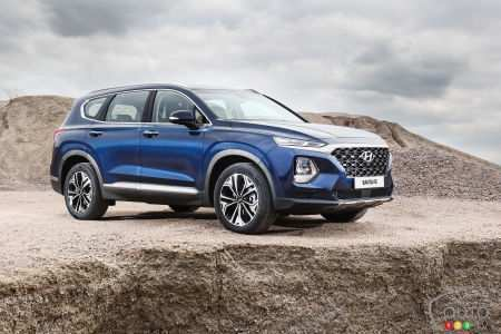 48 The Best 2019 Hyundai Santa Fe Spy Shoot
