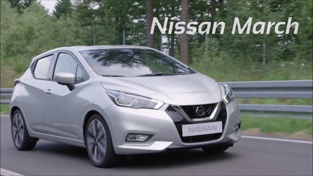 48 The Best 2019 Nissan March Mexico Columbia Exterior