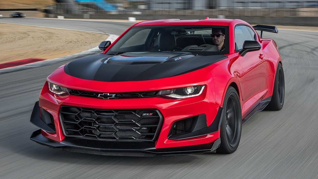 48 The Best 2020 Chevrolet Camaro Release Date And Concept