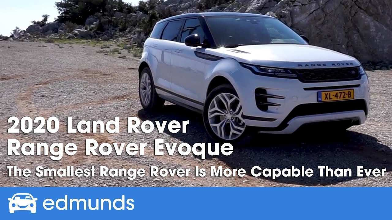 48 The Best 2020 Range Rover Evoque Xl Release Date And Concept