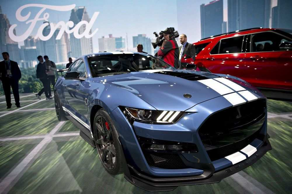 48 The Best Ford Debuts 2020 Shelby Gt500 Concept And Review