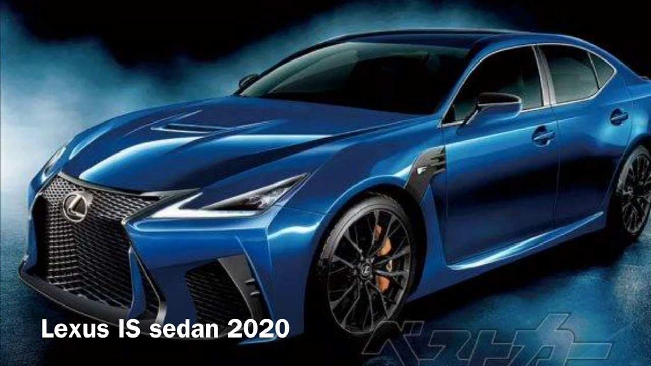 48 The Lexus F Sport 2020 Overview